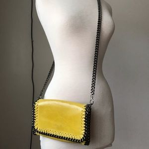 Italian LEATHER CHAIN Falabella Stella McCartney